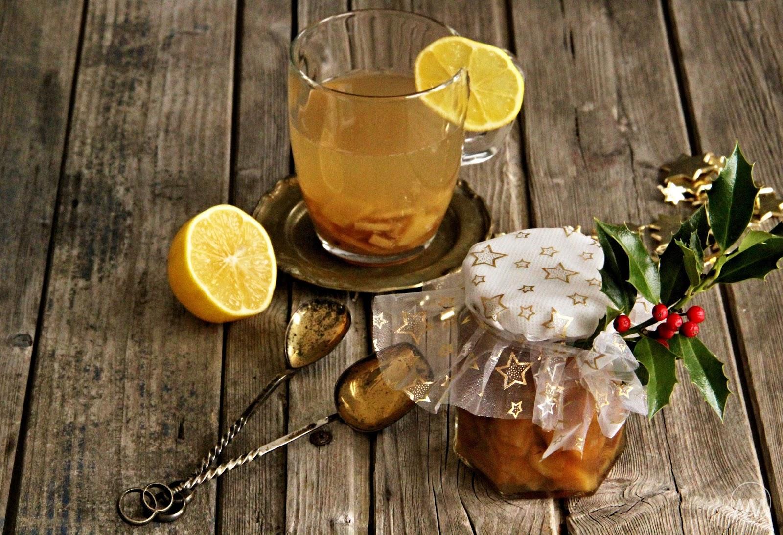 Zázvorový čaj recept