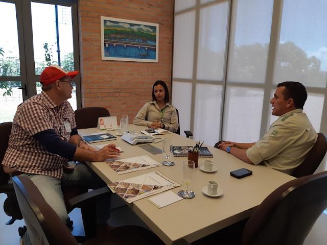 Sebrae apresenta projeto à empresa Energia Sustentável do Brasil