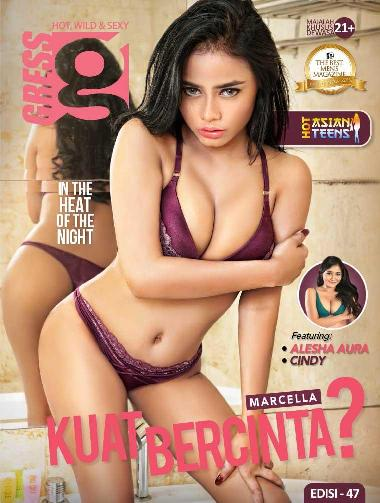 Download GRESS Magazine No. 47 - Februari 2017 PDF ALESHA AURA, MARCELLA, CINDY - www.insight-zone.com