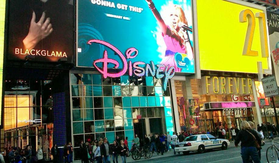 Loja Disney Store em Nova York