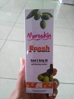MORESKIN WHAITENING SERIES HAN & BODY OIL (082334020868)