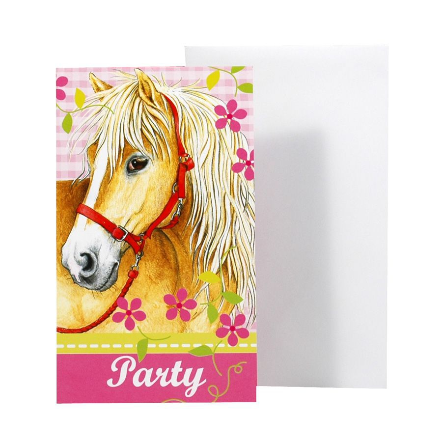 Gut bekannt Invitation Anniversaire Cheval | Conception Invitation Anniversaire LW51