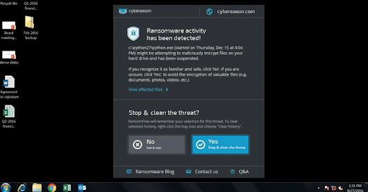 RansomFree Tool Detects Never-Seen-Before Ransomware Before It Encrypts Your Data