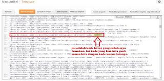 Menemukan dan Mengganti Kode Warna Hover Template Blog