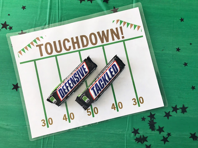 Snickers game day snacks