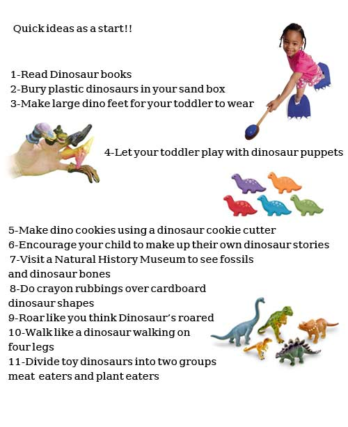 Dinosaur Activities For Toddlers Activities For Toddlers