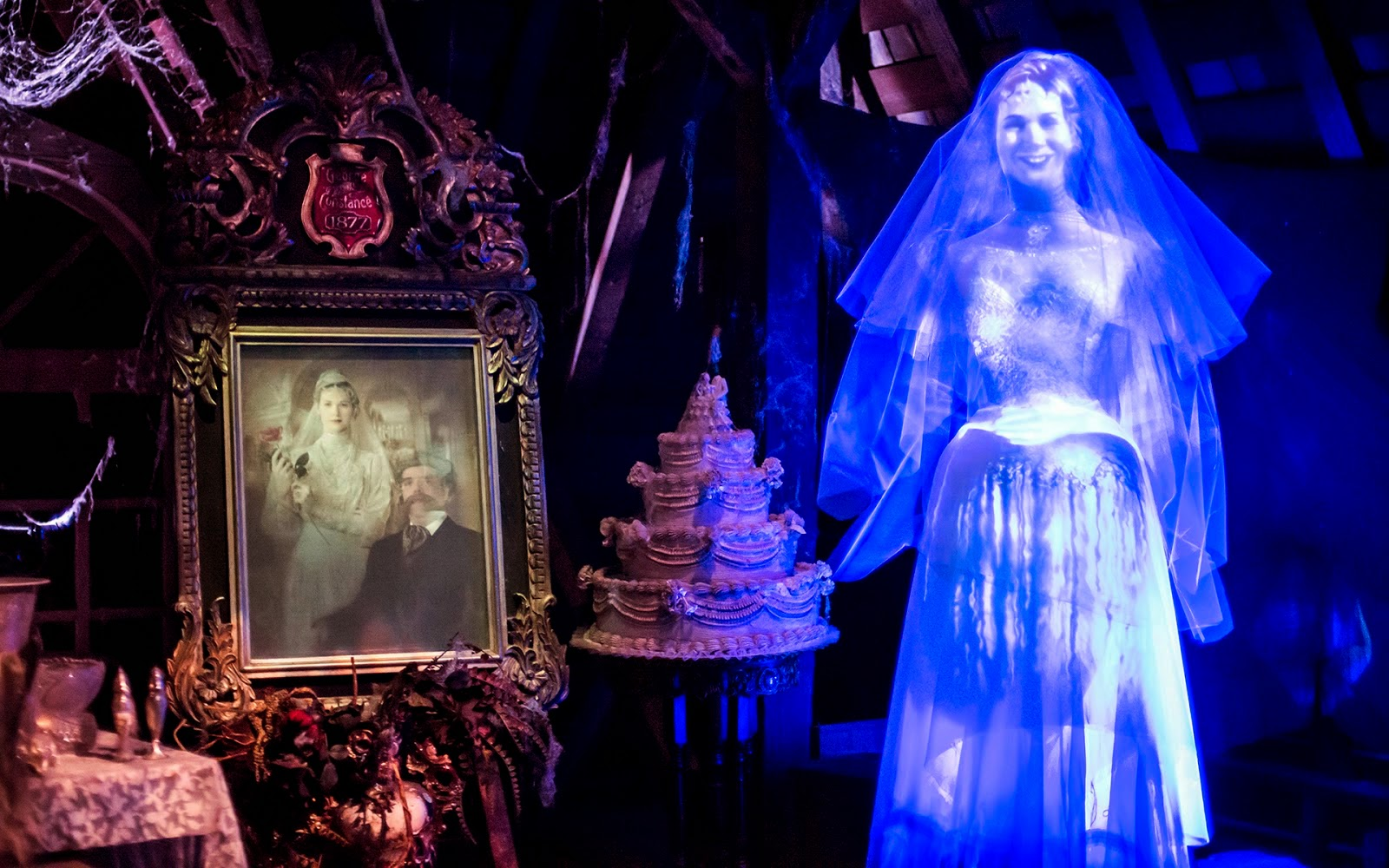Haunted Mansion no Magic Kingdom na Disney em Orlando