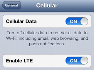How To Enable LTE on iPhone 5