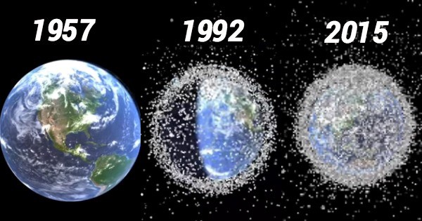 Space Pollution Junk Problem in Hindi