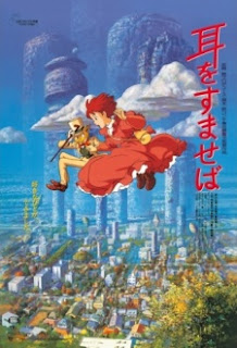 Download Mimi wo Sumaseba (Whisper of the Heart) BD Subtitle Indonesia