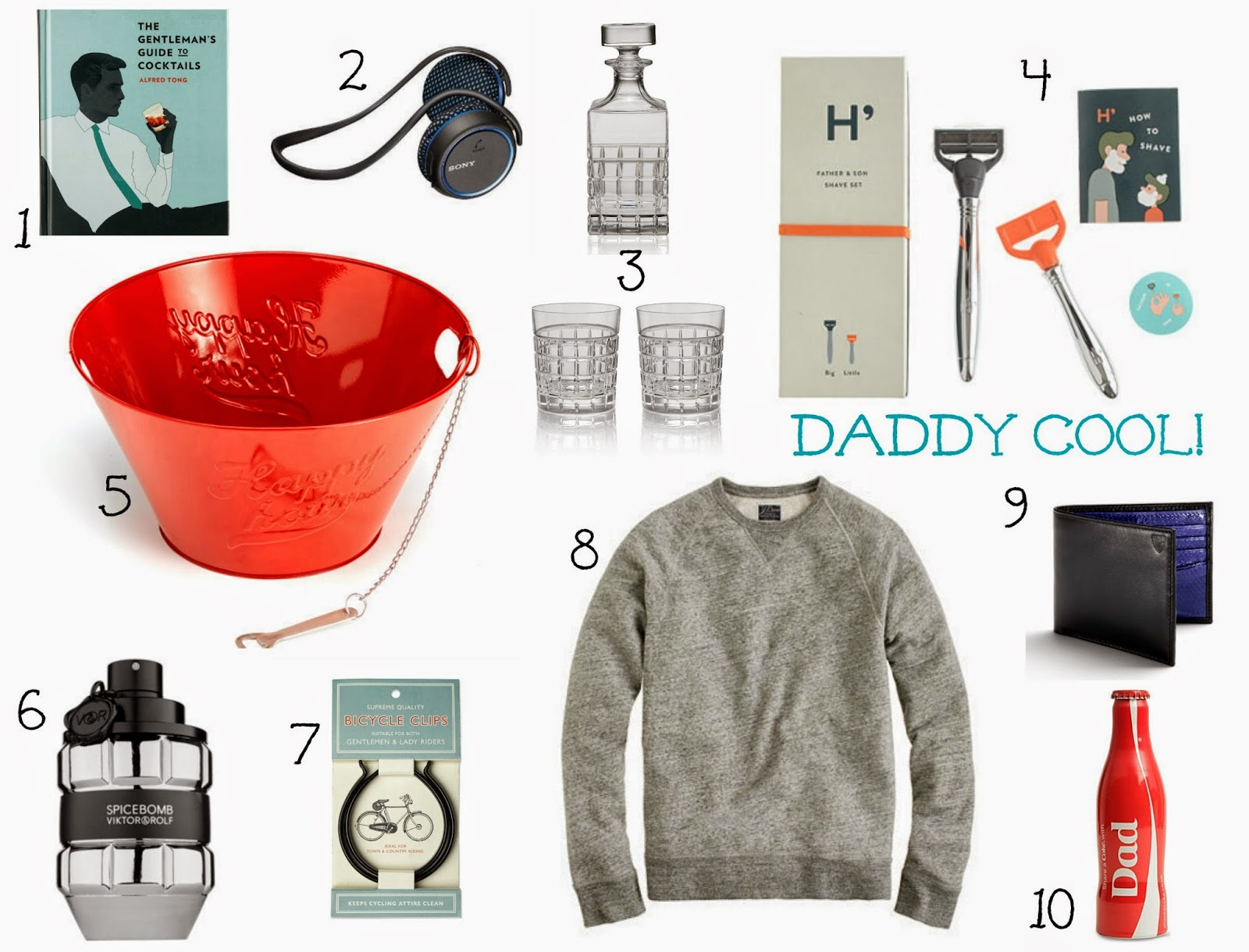 The Perfect Father's Day gifts from £1.99 | fathers day gift guide | gifts | dads | daddy | new dads dad gift | present ideas for dads | father day gifts | father day | sunday 15th june | selfridges | oliver bon as | marks & spencer | j crew | shaving set | sweatshirt | daddy picture | dad gift | mamasVIb | gift guide | present ideas | luxe gifts | daddy shopping