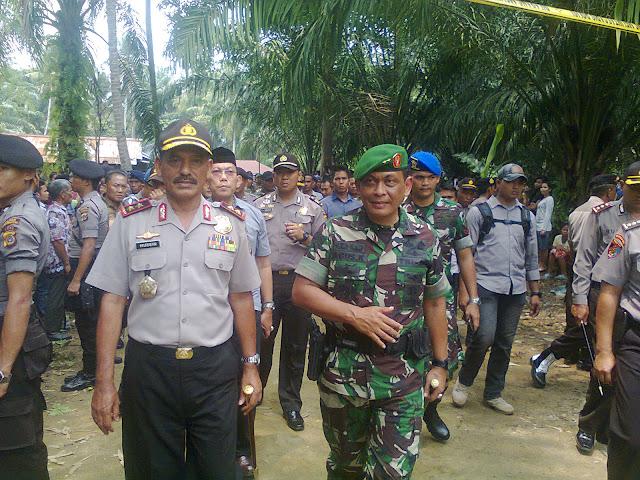 Kapolda Aceh dan Pangdam Masih Berkantor Di Singkil