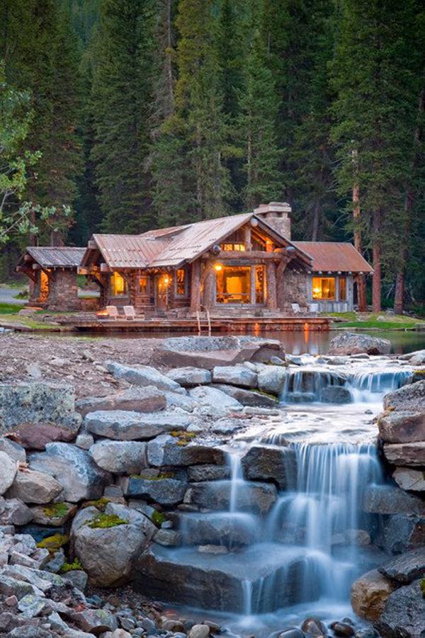 Desain Rumah Minimalis di Pegunungan