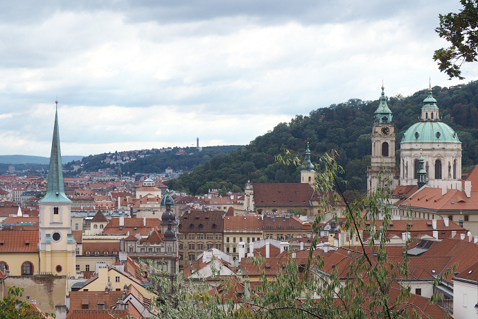 View of Prague from Prague Castle