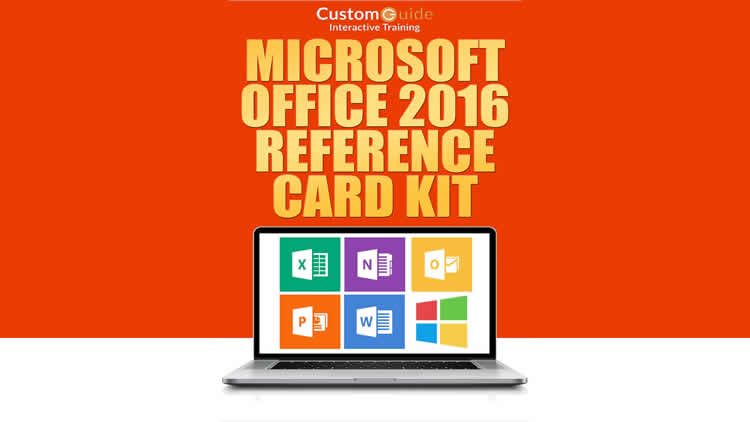 Microsoft Office 2016 - Free Reference