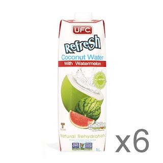 Prueba gratis agua de coco UFC Watermelon