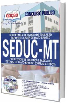Apostila SEDUC MT 2017 Professor de Educação Básica