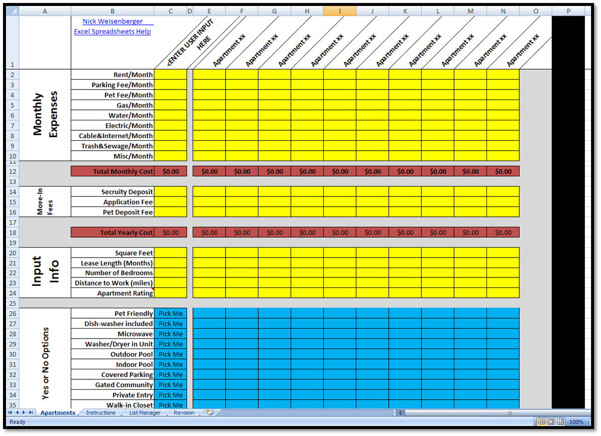 Excel Spreadsheets Help: February 2011