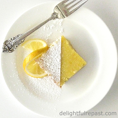 Sugar - Toxin or Treat? / Magical Meyer Lemon Bars / www.delightfulrepast.com