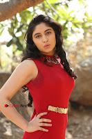 Telugu Actress Zahida Sam Latest Pos in Red Gown at RF Films New Movie Opening  0083.JPG