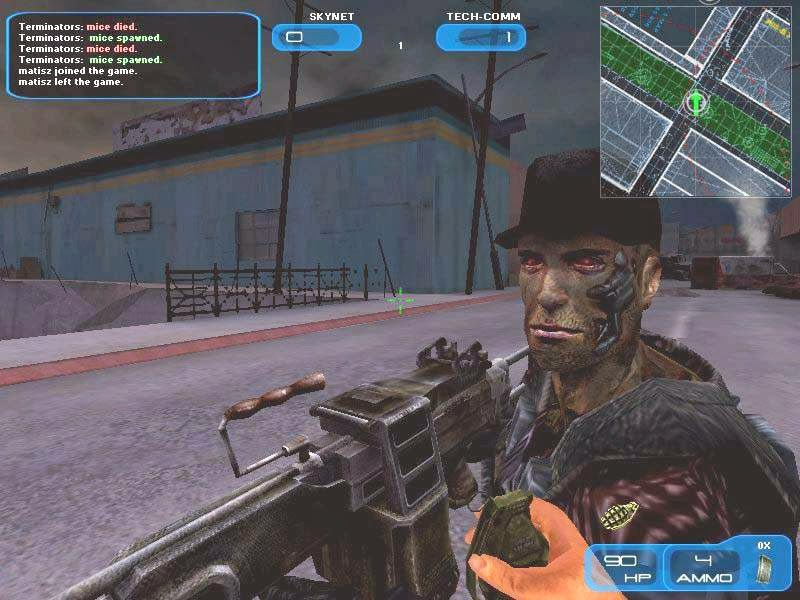 Terminator 3 war of the machines game free download ~ under world.