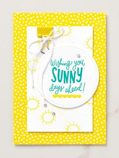 Stampin' Up! Sunny Days Card ~ Pineapple Punch ~ In Colors ~ 2018-2019 Annual Catalog