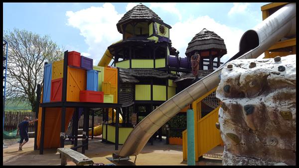Go Wild play area at Drusillas