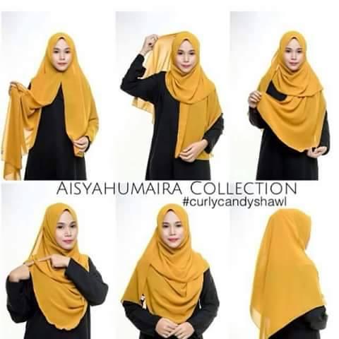 foto tutorial hijab style 2