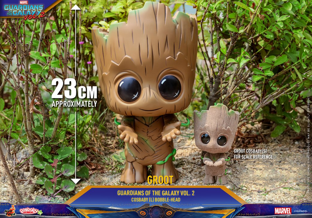 Toy Guardians of the Galaxy Vol 2 Baby Groot Cosbaby Bobble Head Toy Gifts UK