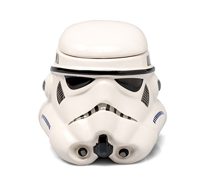 Star Wars Stormtrooper Helmet 3D Ceramic 20oz. Coffee Mug with Removable Lid