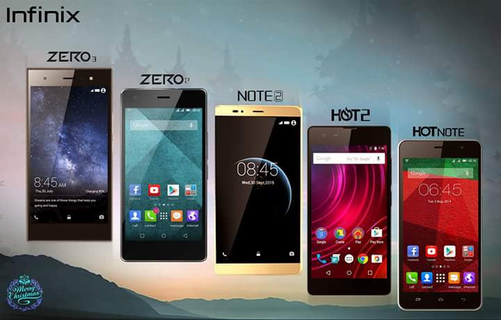 Infinix Brand And Top 5 Phones