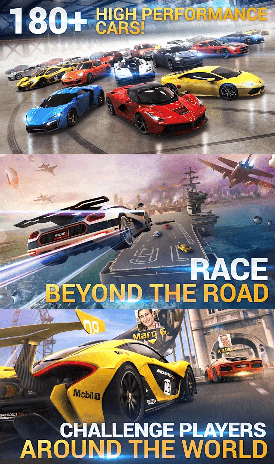 Screenshots - Asphalt 8 Airborne