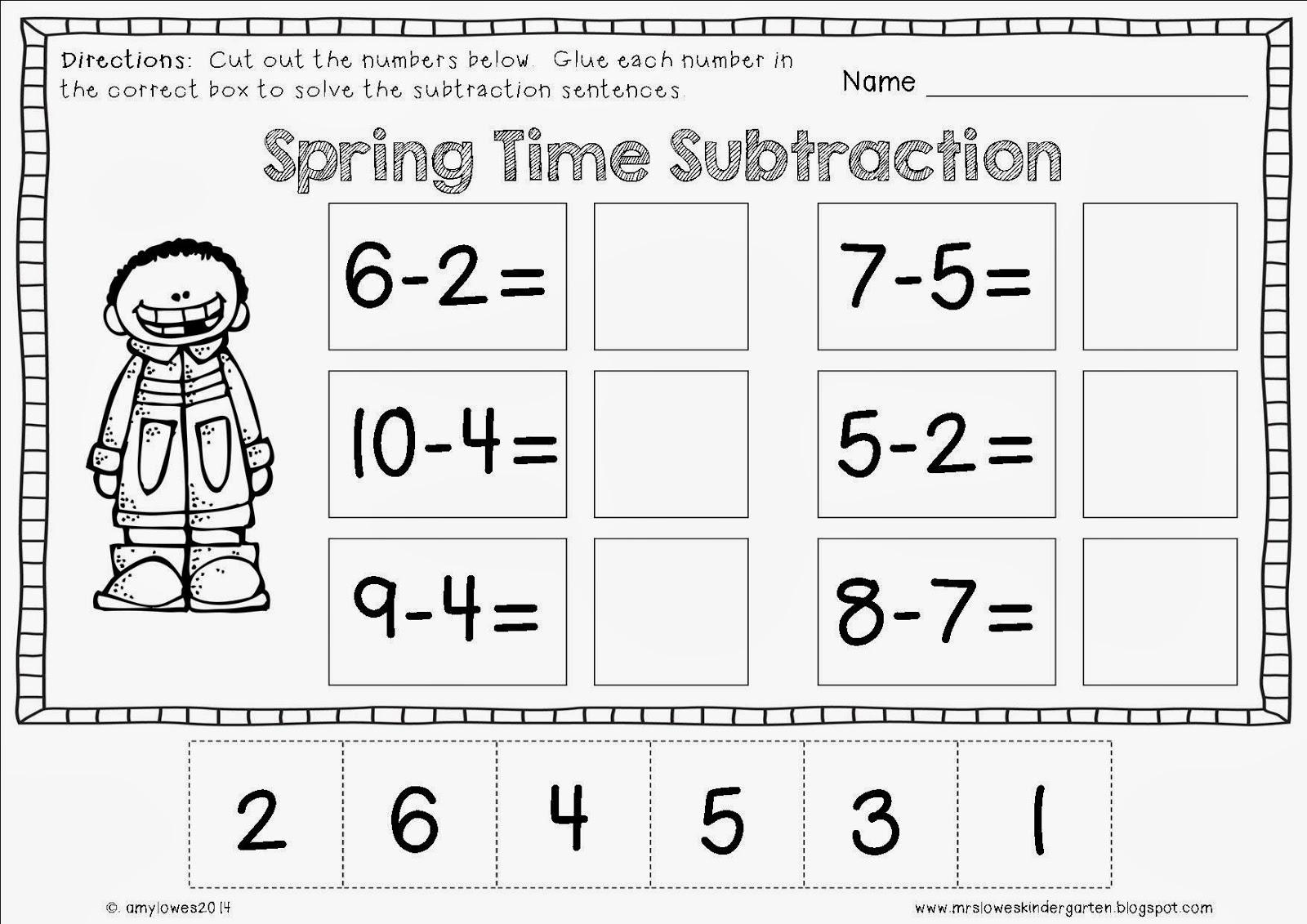 Mrs Lowes Kindergarten Korner March Worksheets Graphs Mrs
