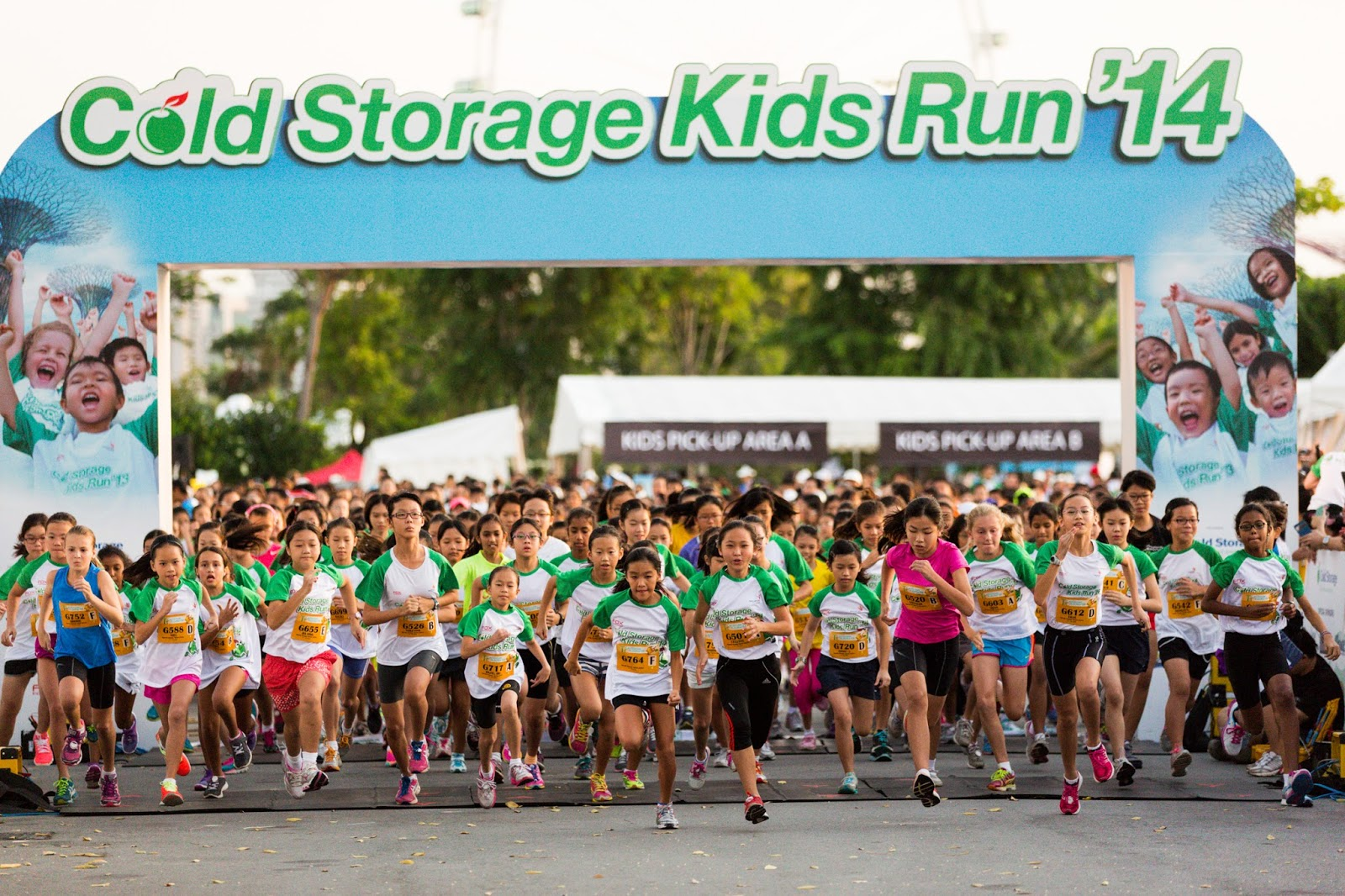 Cold Storage Kids Run 2015 The Wacky Duo Singapore