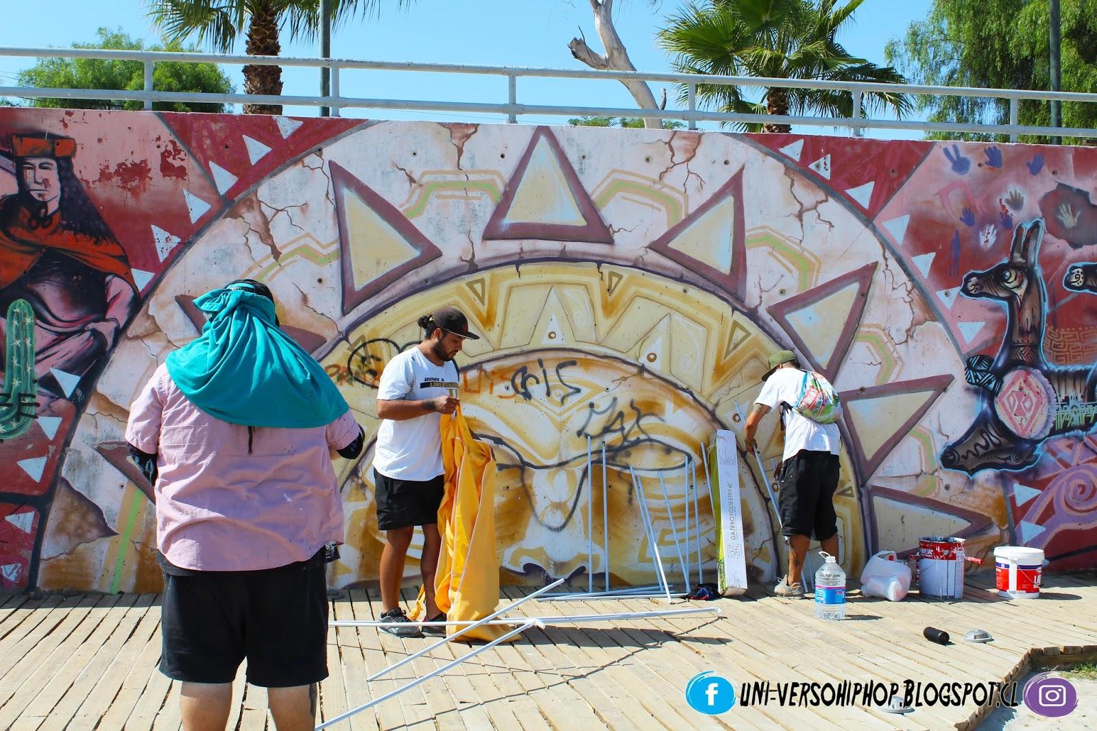 ... chilenos que representan en carne viva el graffity o muralismo ec9031b7ceb