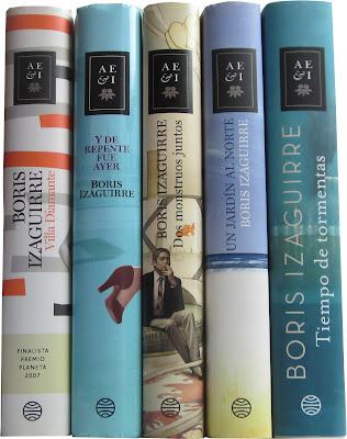 boris-izaguirre-libros