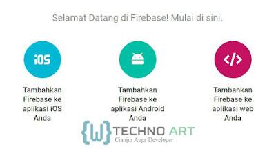 Tambahkan Firebase ke aplikasi Android