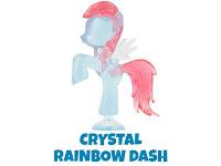 MLP Squishy Pops Series 3 Rainbow Dash Figure by Tech 4 Kids