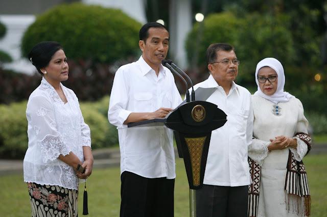 Ini Dia Susunan Lengkap Menteri dan Wakilnya Dalam Kabinet Kerja Mulai Oktober 2016 Ini
