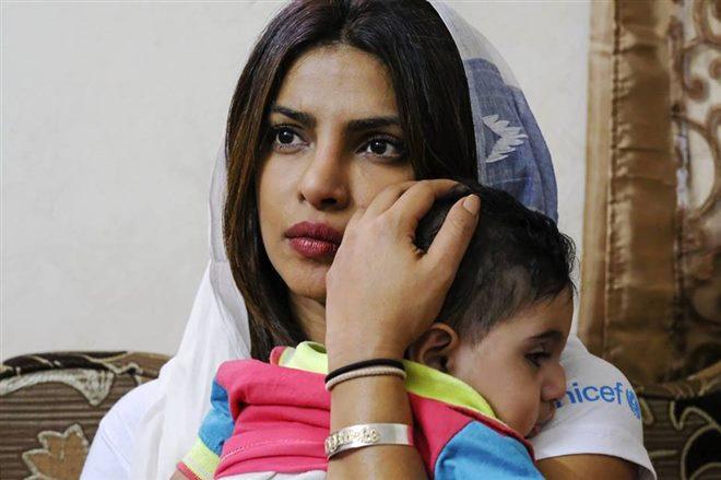 Priyanka Chopra a UNICEF Goodwill Ambassador In Jordan