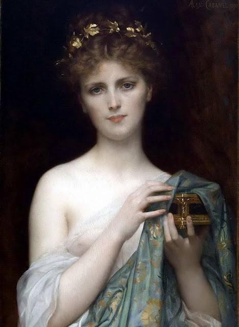 Pandora  Alexandre Cabanel  1823-1889