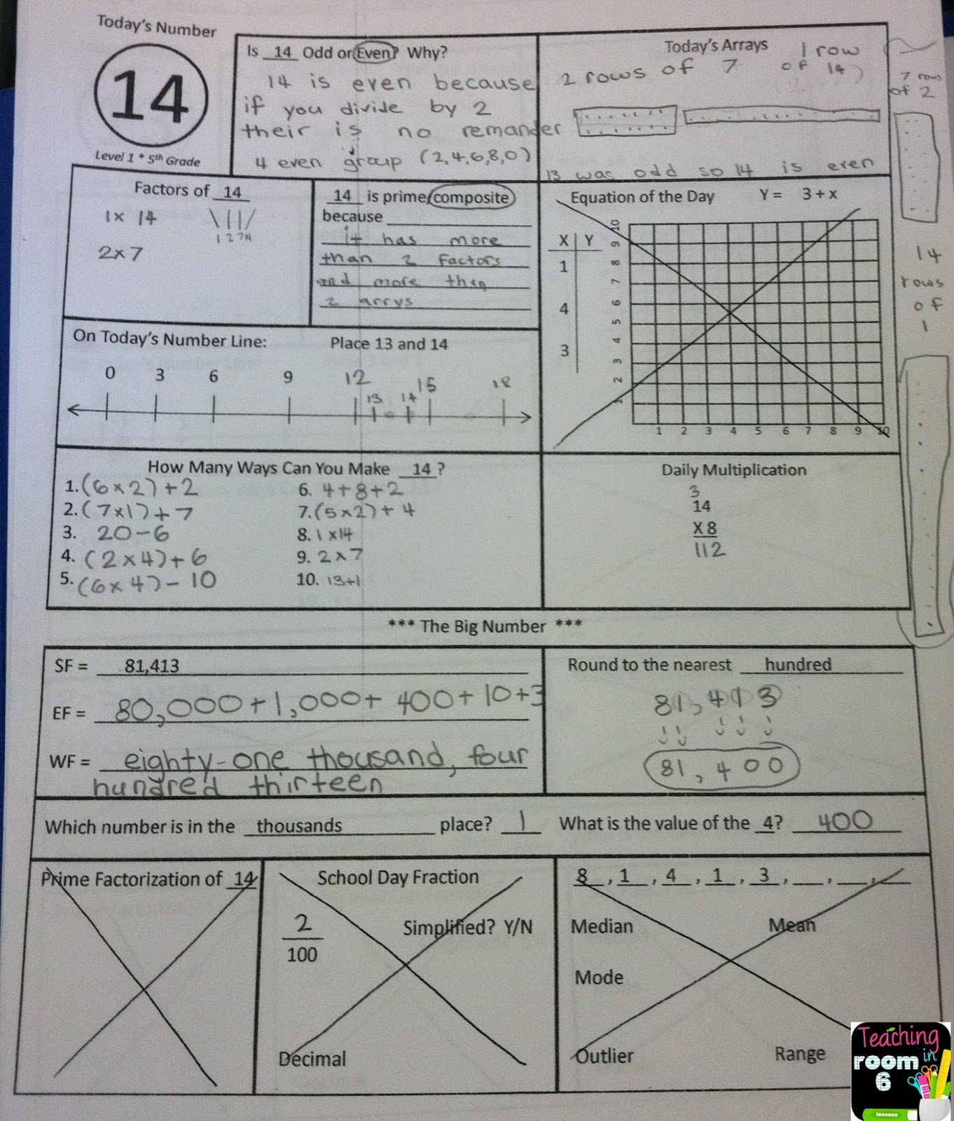 Calendar Math The First Week In Pictures