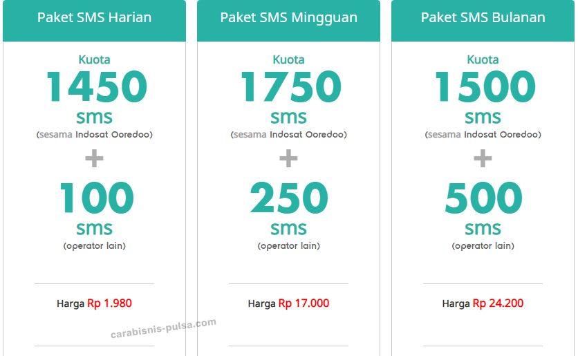 Cara Daftar Dan Cek Paket Sms Indosat Dengan Mudah