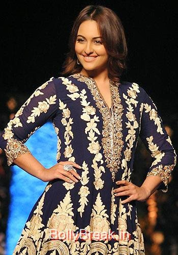 Check out these filmi scorchers!, Sonakshi, Aamir, Diandra's CPAA Fashion Show Photo gallery 2015