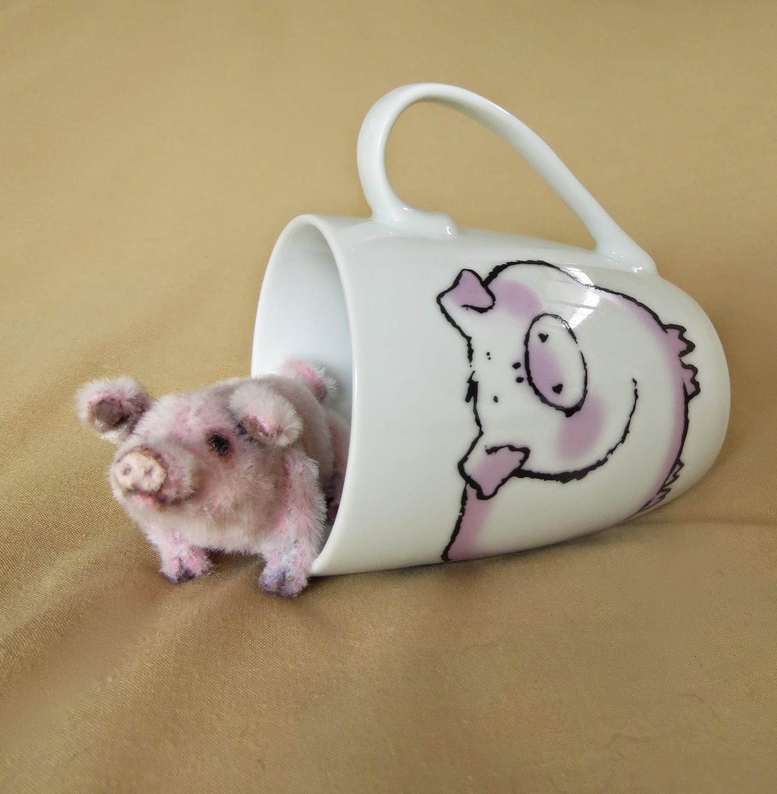 Eddybare Creations: Pearl - Teacup Piglet