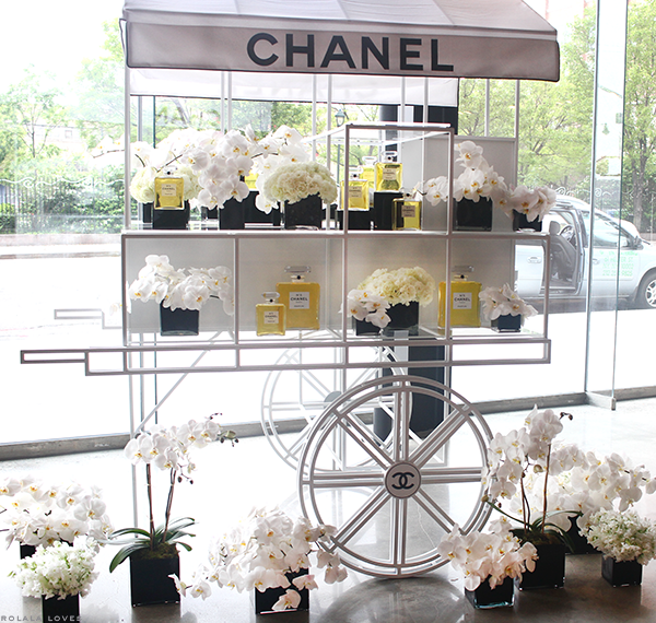 Chanel No. 5, Chanel Exhibition, #n5ny, Chanel N°5 Perfume