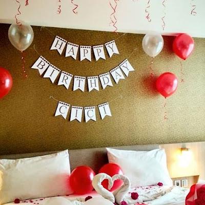 dekorasi kamar ulang tahun terbaru
