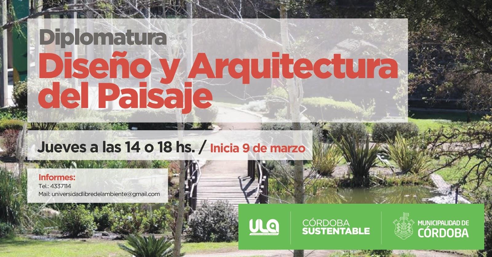 Universidad libre del ambiente comenzamos el 2017 for Arquitectura del paisaje