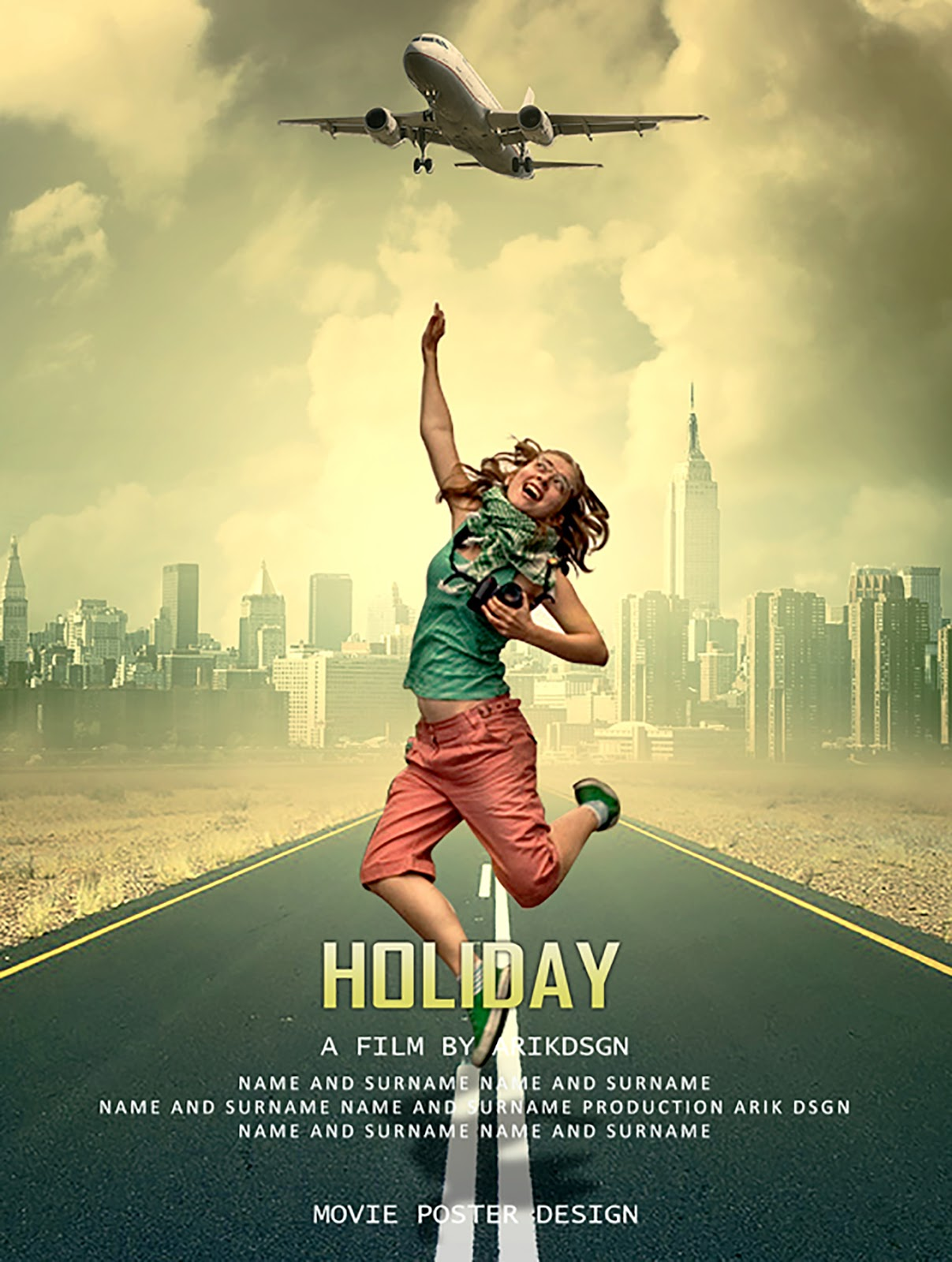 Movie poster photoshop tutorial holiday baditri Choice Image