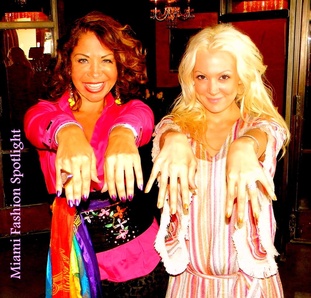 Tv Guide Network Star Katie Cazorla Takes Miami Promoting Reality Series Nail Files Miami Fashion Spotlight